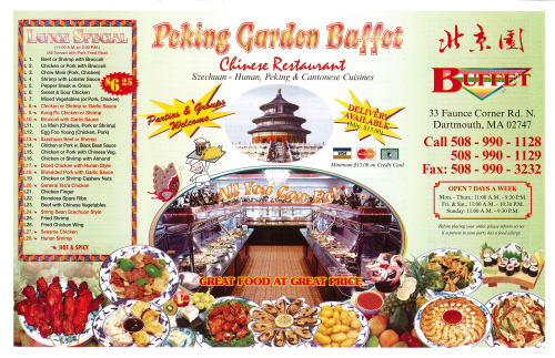 Peking Garden North Dartmouth
