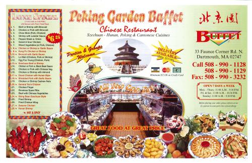 Peking Garden North Dartmouth